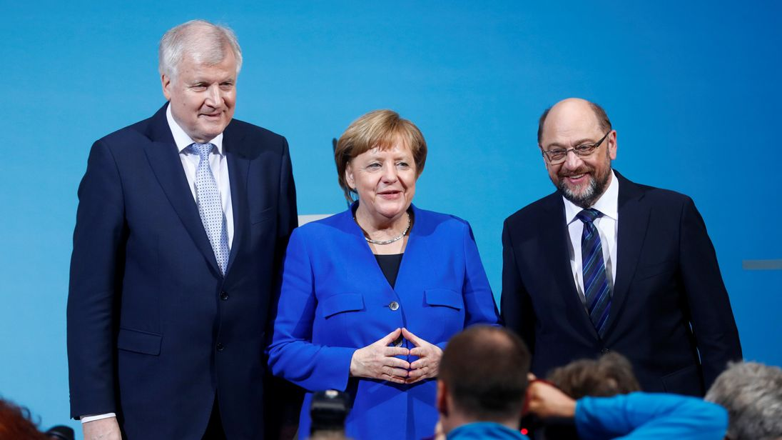 Merkel Takes Step Toward New Government for Germany