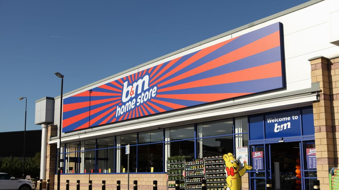 B&M posts 22% surge in Christmas sales