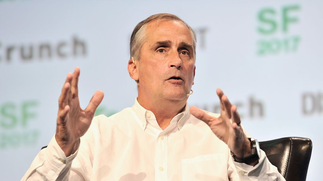 Intel says there is no suggestion of insider dealing by Brian Krzanich
