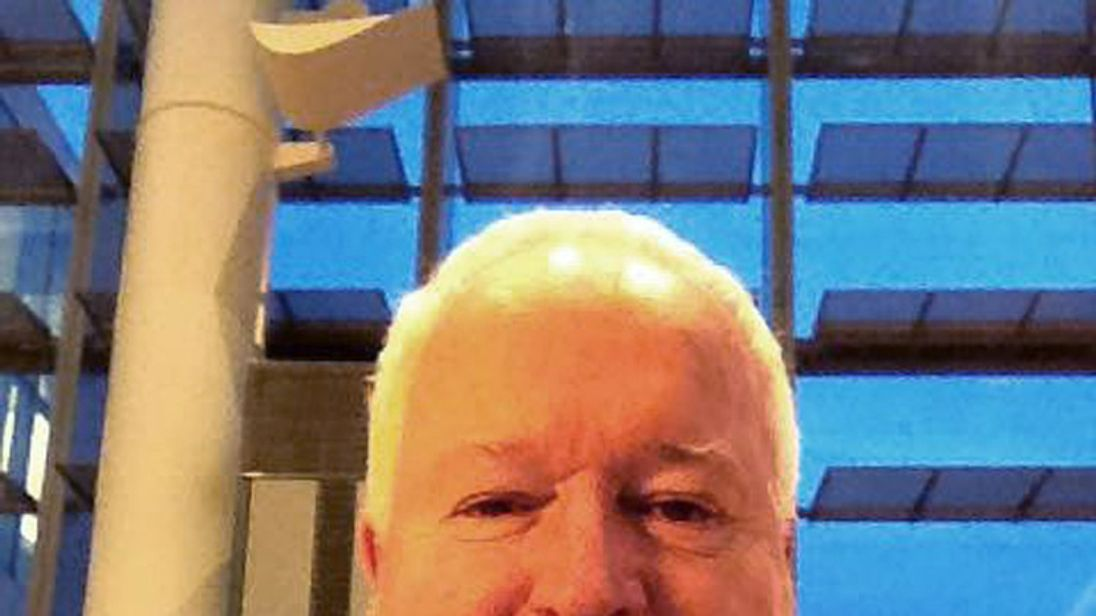 Bruce McArthur, a 66-year-old freelance landscaper who was accused by Toronto police January 29, 2018 of murdering five people and putting their dead bodies in large planters on his clients' properties, appears in a photo posted on his social media account