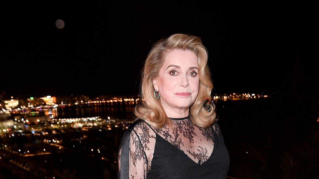 Catherine Deneuve at the 2017 Cannes Film Festival