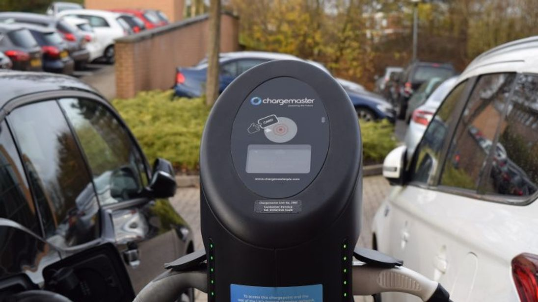 Chargemaster runs the POLAR network of electric vehicle charging points in the UK. Pic: Chargemaster