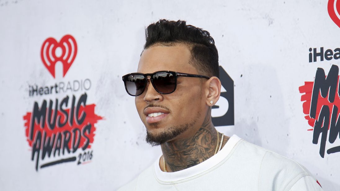 Monkey business: Chris Brown's exotic pet might land him in wahala