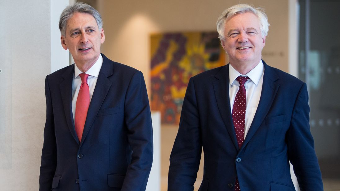 David Davis and Philip Hammond
