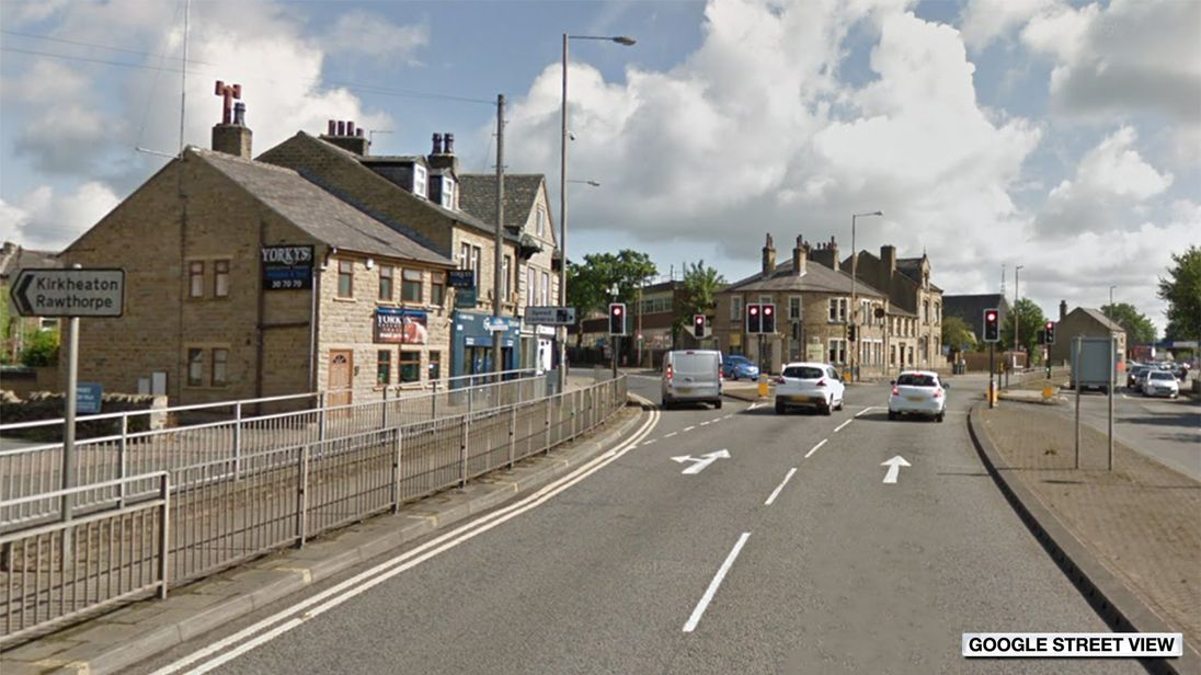 Man, 72, seriously injured after Huddersfield collision