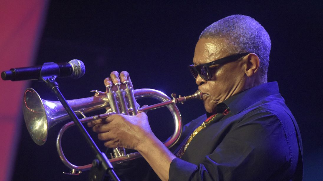 'Thanks for the extraordinary music' - Akufo-Addo eulogizes Hugh Masekela