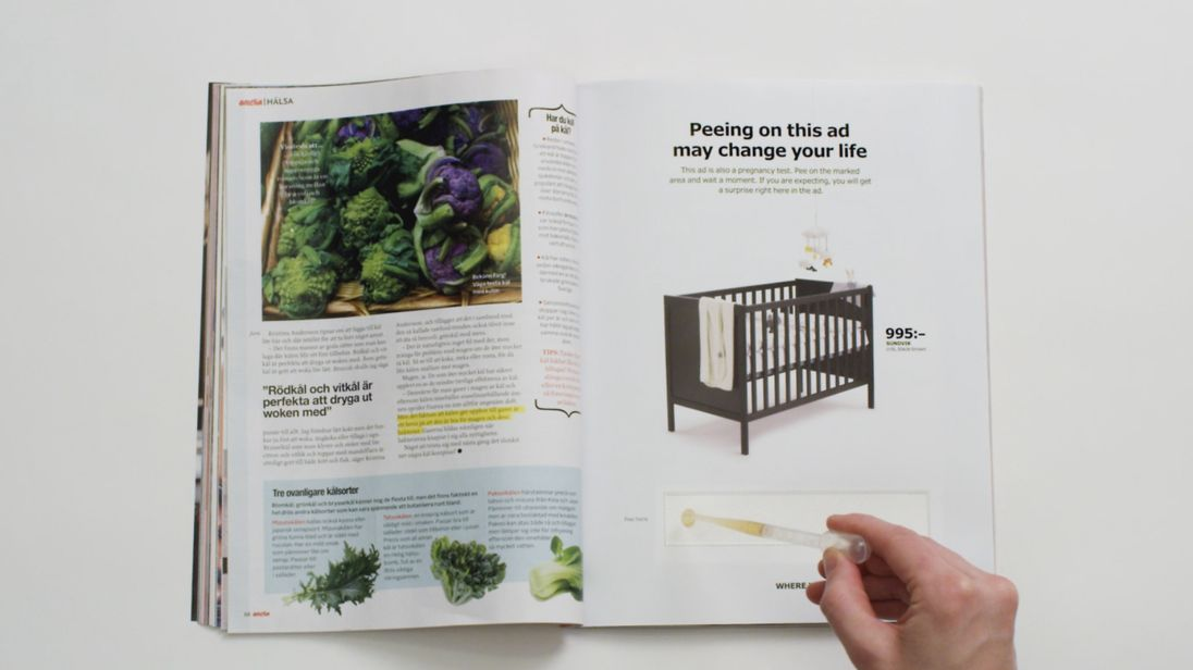 The IKEA advertisement. Pic: IKEA