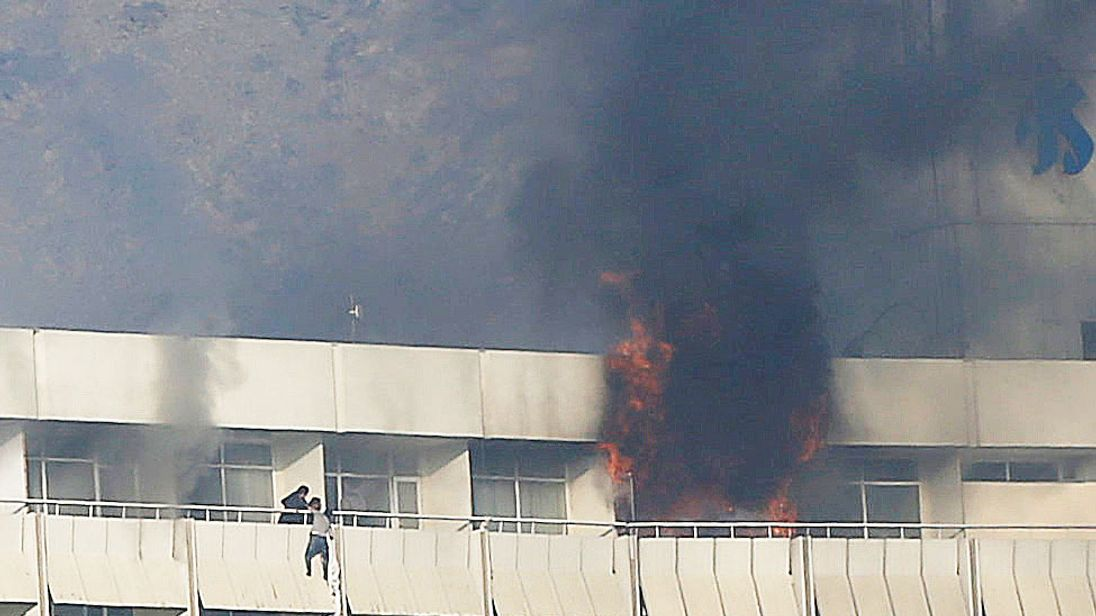 18 civilians killed as siege on Kabul Intercontinental Hotel ends