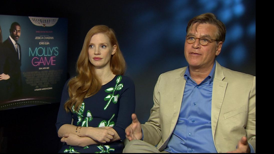 Chastain and Sorkin