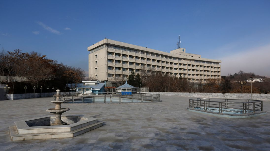 Gunmen have stormed the Kabul Intercontinental Hotel