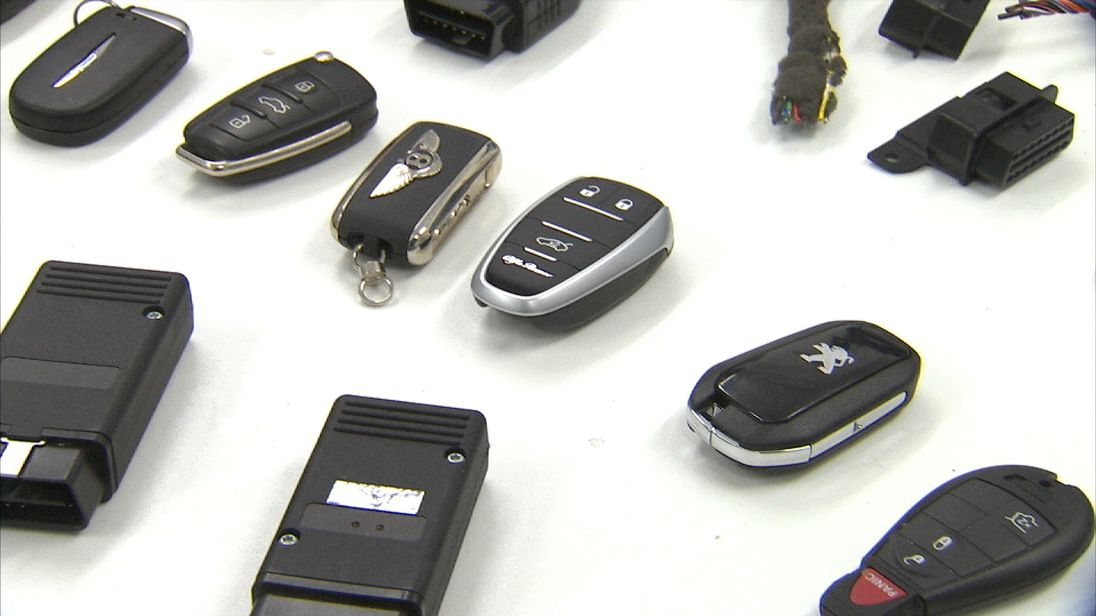 Many modern cars do not have a traditional metal key