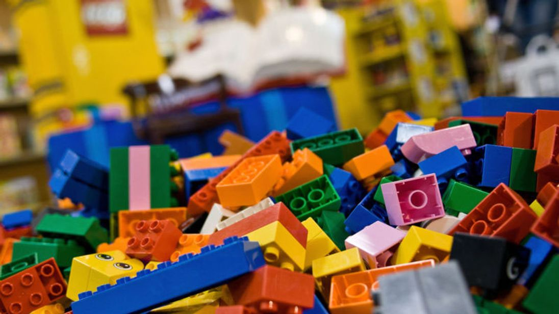 Lego reports first annual sales decline in 13 years