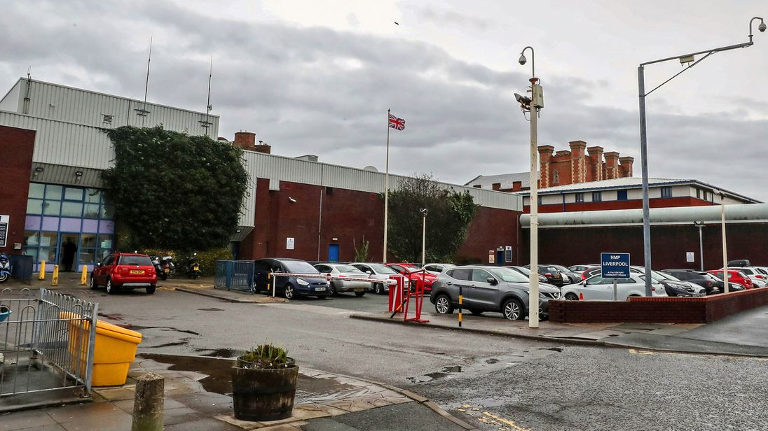 HMP Liverpool, where drones are seized at a rate of more than one a week at the jail which holds inmates in the worst conditions inspectors have seen.