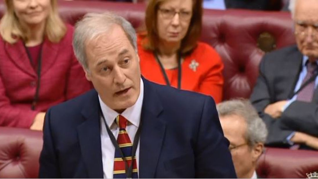British minister resigns after being late to House of Lords
