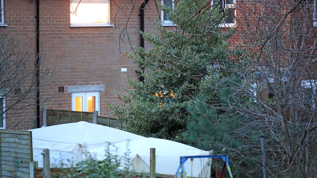 Neighbours tell of shock as dead body found in garden