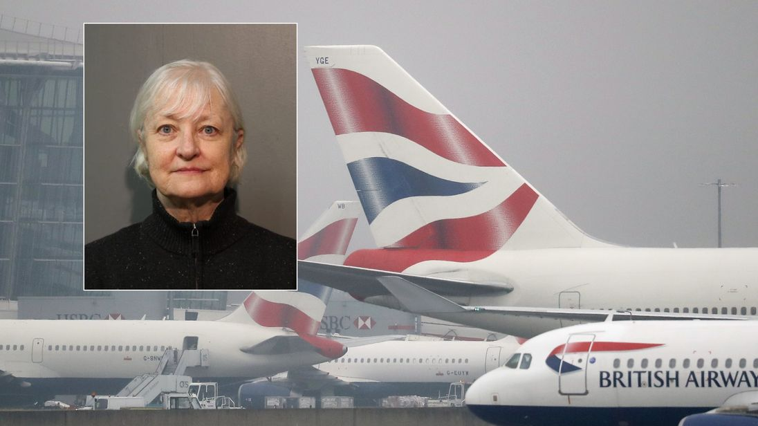 Serial stowaway Marilyn Hartman flies to London, sent back and arrested