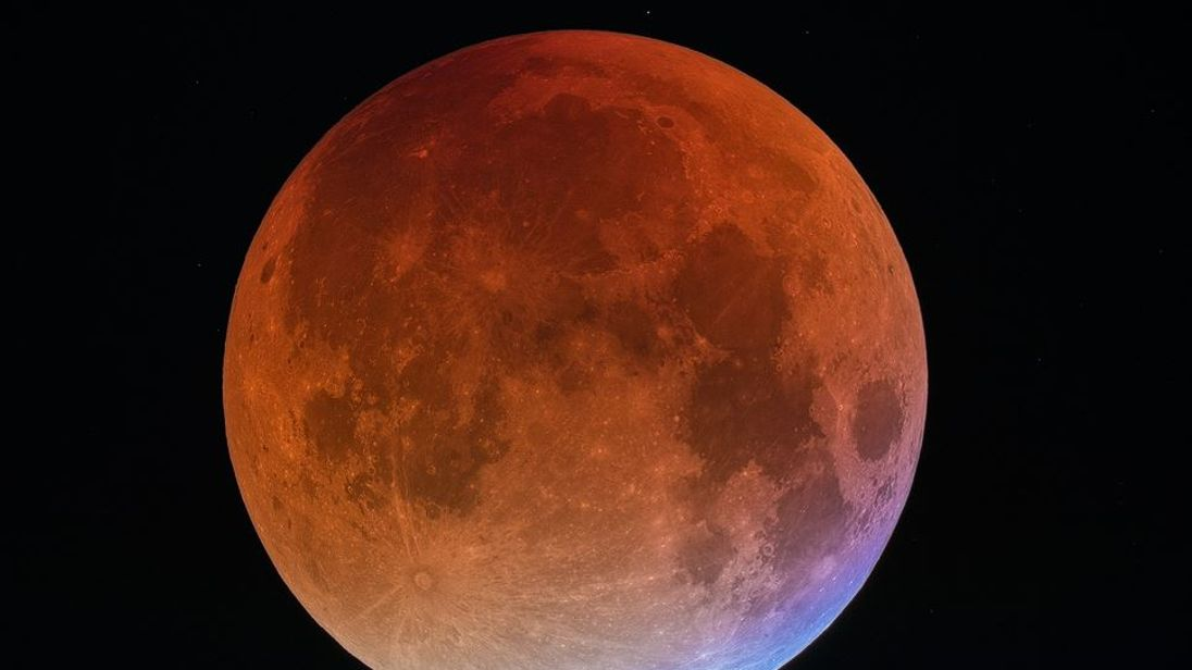 Image result for super blood moon
