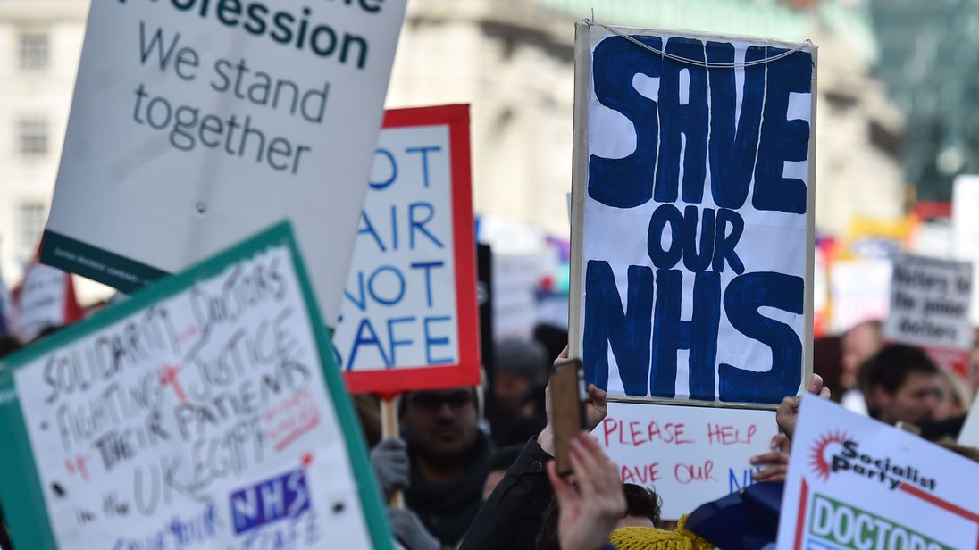 NHS Crisis: Hospitals Full, Patients Wait Long Periods in Ambulances