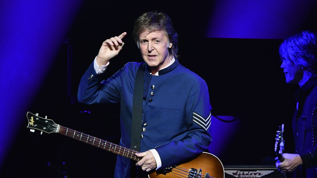 Beatles Icon Sir Paul McCartney The Future Of Music Is In Danger