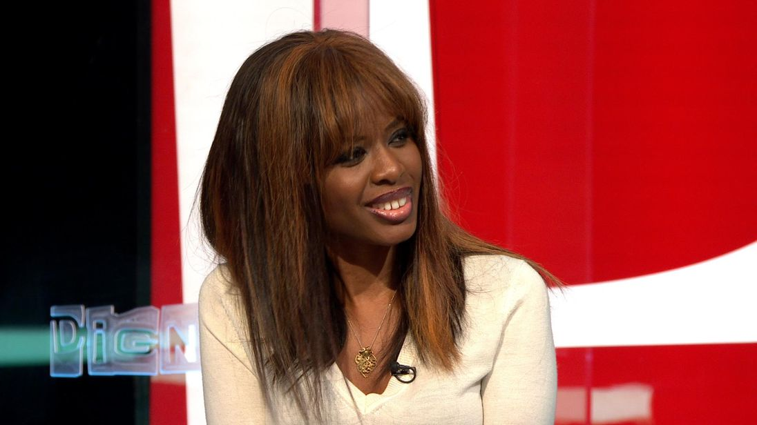 June Sarpong appears on the Sky News debate show The Pledge