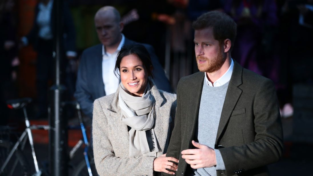 Prince Harry and Meghan Markle visit Reprezent 107.3FM in Pop Brixton on January 9, 2018 in London, England. The Reprezent training programme was established in Peckham in 2008, in response to the alarming rise in knife crime, to help young people develop and socialise through radio.