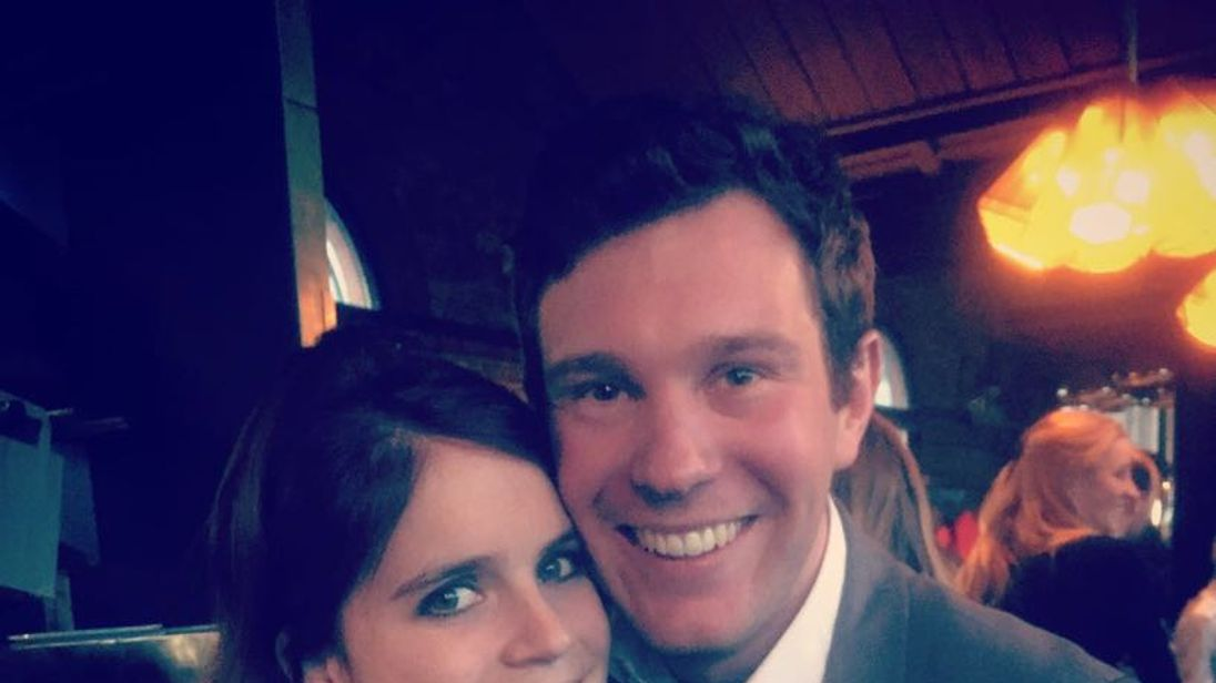 Princess Eugenie and Jack Brooksbank to marry at Windsor Castle