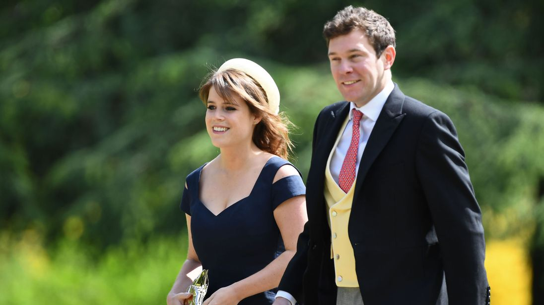 The Palace just released Princess Eugenie and Jack Brooksbank's gorgeous engagement photos