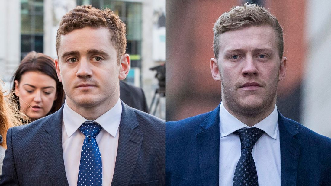 Court told Jackson and Olding allegedly boasted about sexual activity