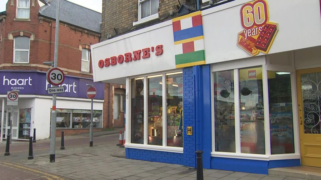 First UK shop to sell Lego gets special makeover to mark 60 years of ...