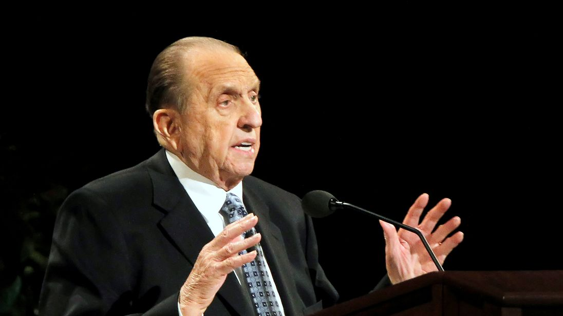 Thomas Monson died at his home in Salt lake City