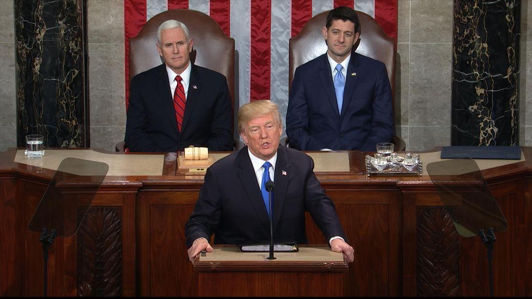 President Trump on trade reform