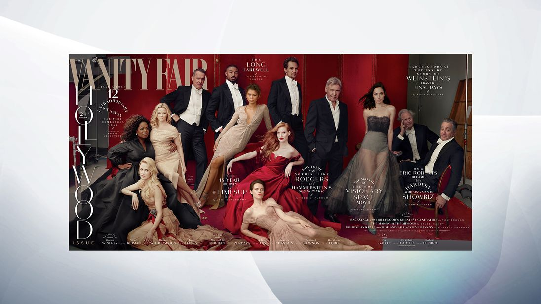 Vanity Fair removes James Franco from cover over sexual misconduct allegations