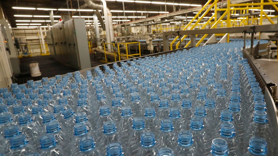 Study finds microplastics in 93% of bottled water samples