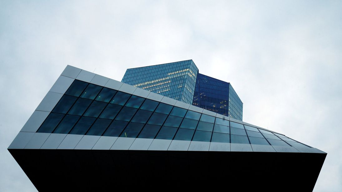 The European Central Bank headquarters in Frankfurt Germany