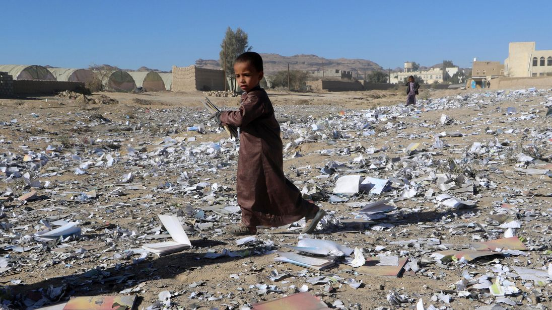 United Nations calls for almost $3 billion in humanitarian aid for Yemen