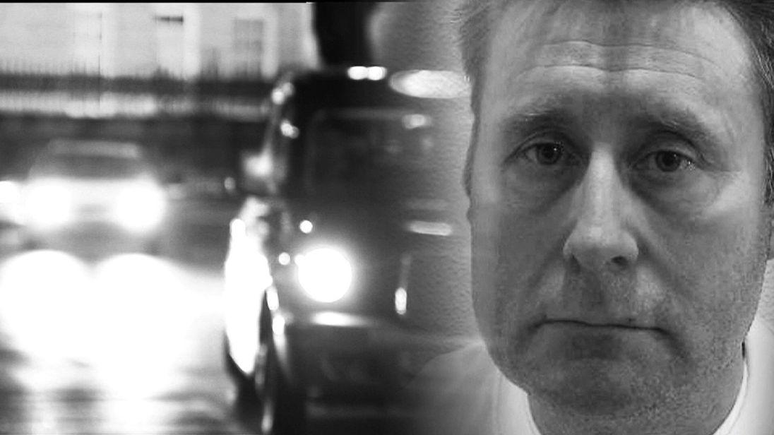 Black and White image of John Worboys