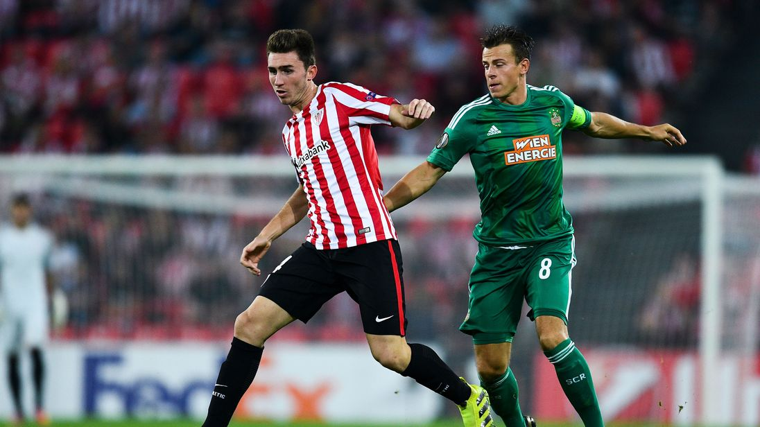 Manchester city agree deal to sign aymeric laporte from for Whats news laporte