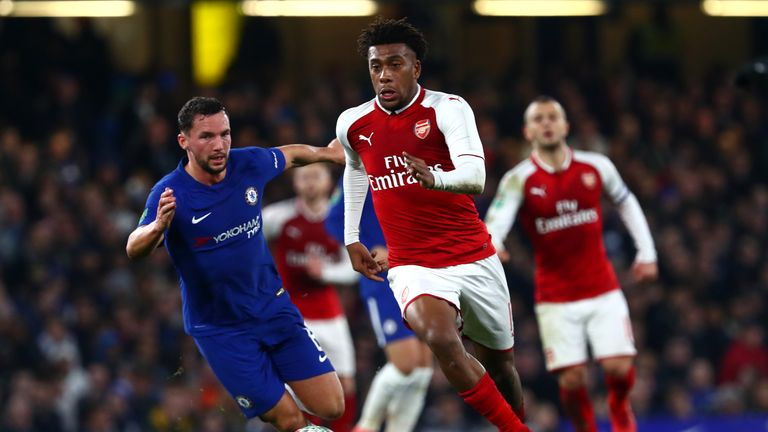Arsene Wenger should have taken a stronger stance on Alex Iwobi and not played him at Chelsea after his off-the-field antics, according to Ian Wright.