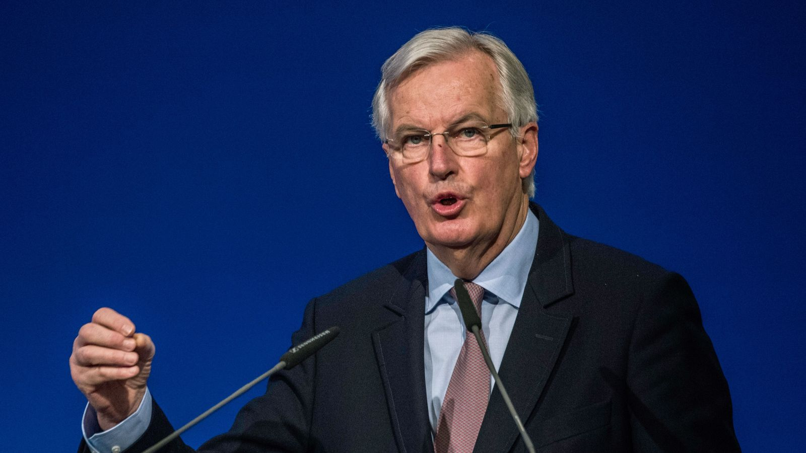 Senior Brexiteers absent from meeting with EU's chief negotiator