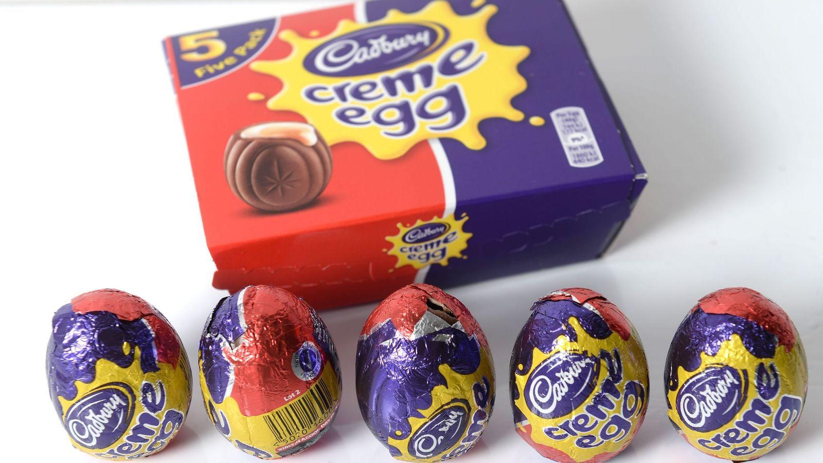 cadburys creme egg announcement - HD1280×807