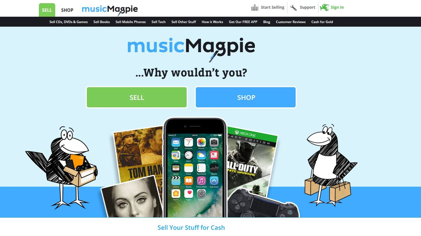 MusicMagpie to swoop onto London stock market