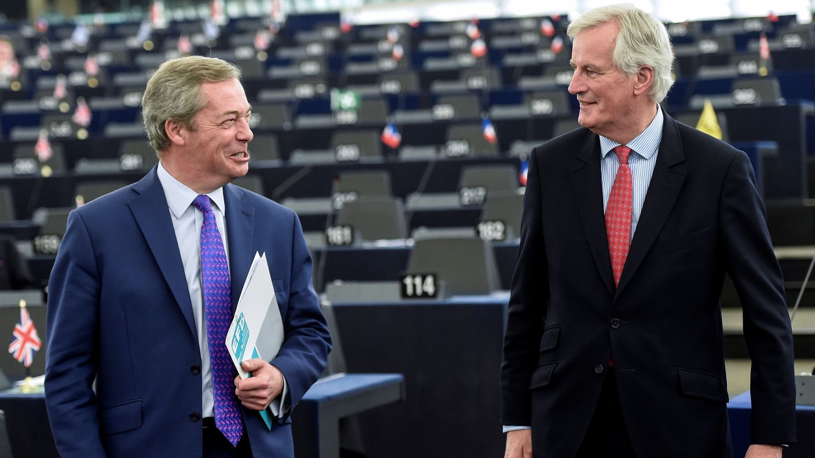 Nigel Farage meeting EU's Brexit negotiator 'like sending ...