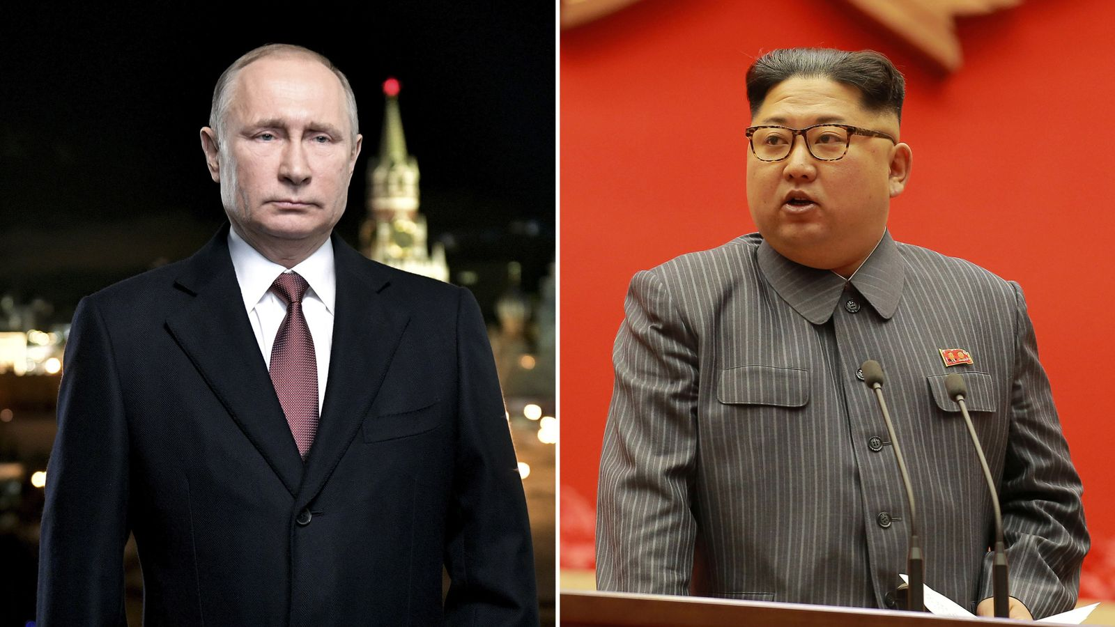 Putin Says North Korea S Kim Jong Un Has Won This Round With Trump World News Sky News