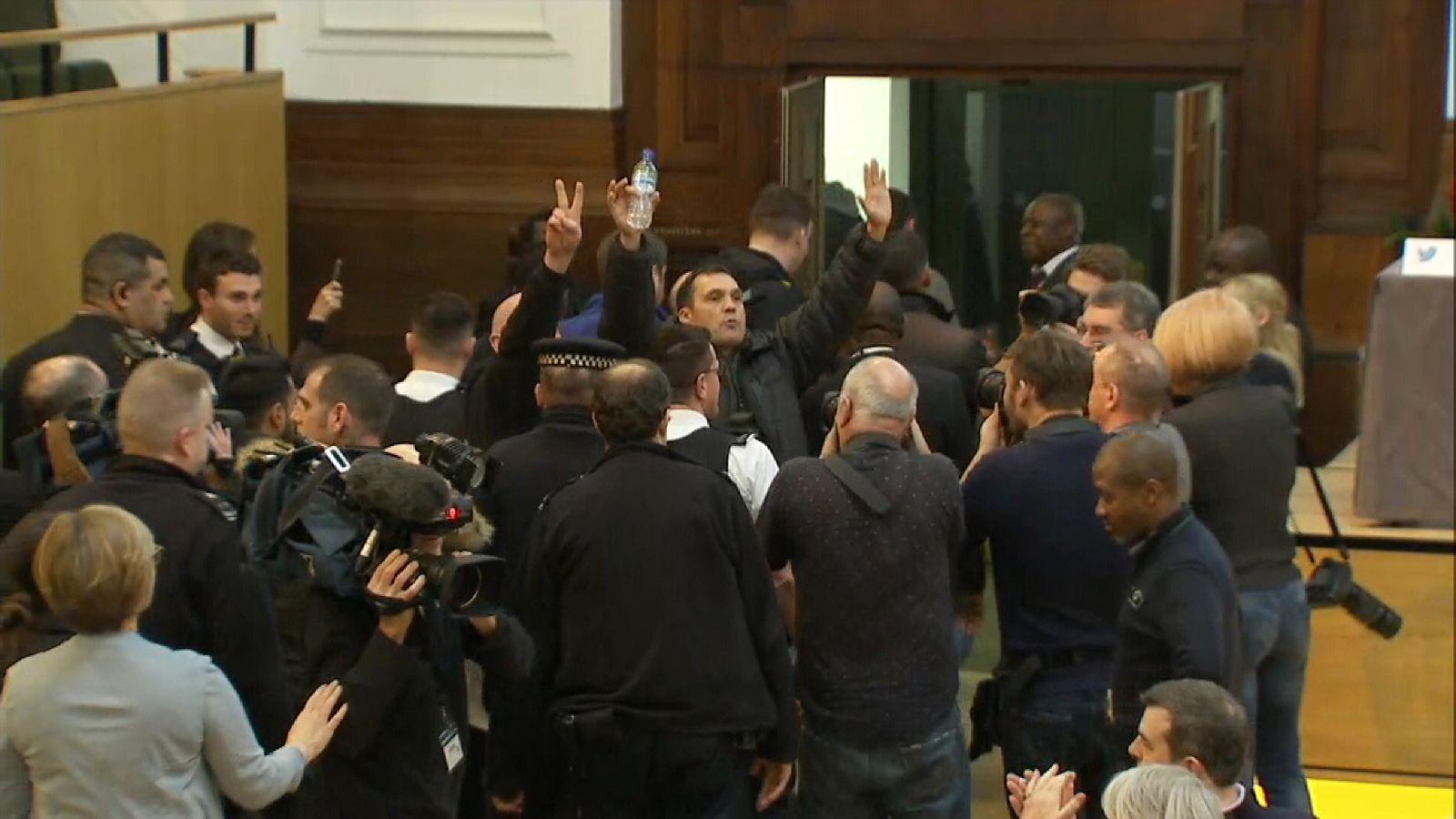Trump supporters demand London Mayor Sadiq Khan arrest