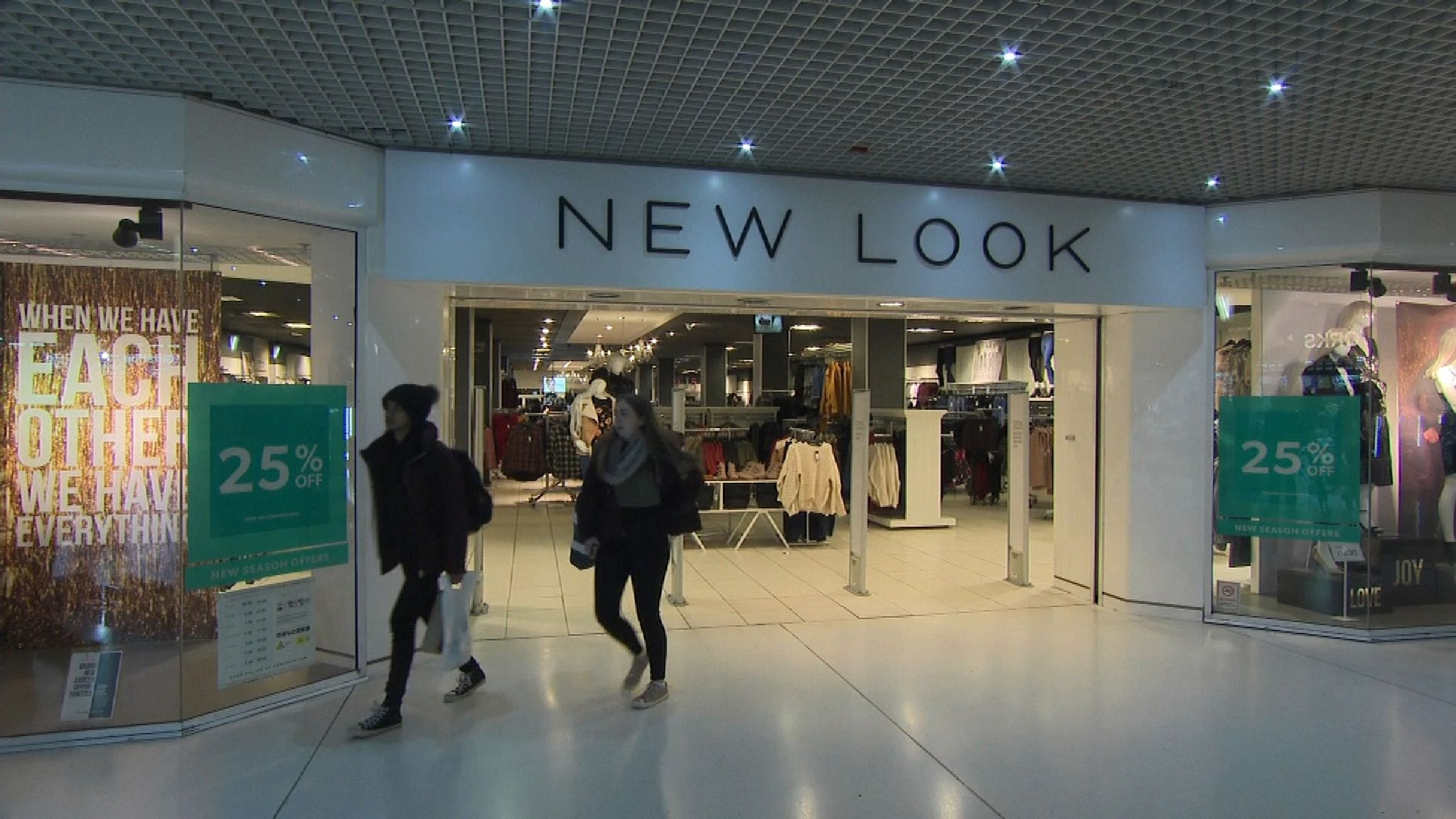 New Look plots closure of 20 shops as high street pain grows ...