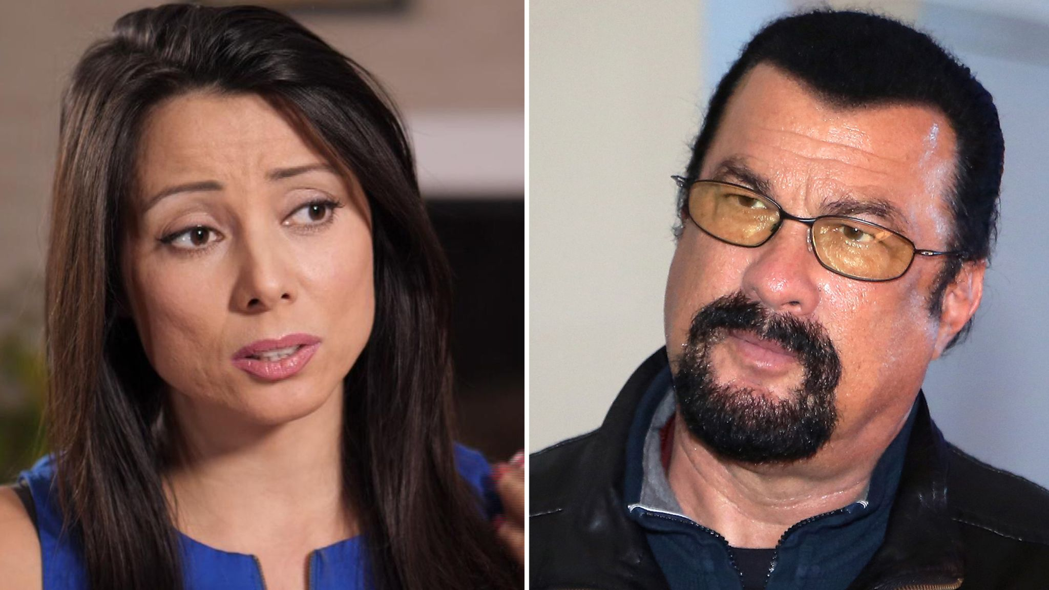 Bond Girl Alleges Steven Seagal Sexually Assaulted Her After 2002 Audition Ents Arts News Sky News