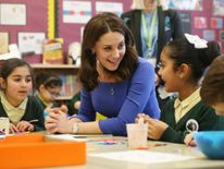 The Duchess of Cambridge launched a mental health website for teachers