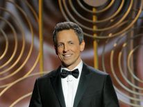 Seth Meyers hosts the 75th Golden Globe Awards in Beverly Hills