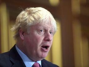Foreign Secretary Boris Johnson. File photo