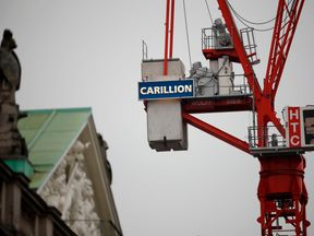 Carillion Crane Construction London
